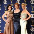 Le charme de  Mad Men  : Elizabeth Moss, Christina Hendricks et January Jones sur tapis rouge, en 2010.