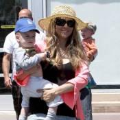 Brooke Mueller : Loin de son futur ex-mari Charlie Sheen et avec ses jumeaux, elle tente de se reconstruire !