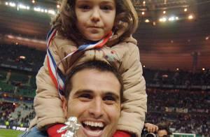 Pedro Miguel Pauleta, buteur du PSG, papa pour la troisième fois