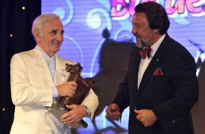 Charles Aznavour est le chouchou de la première dame de Russie !