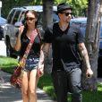 Joel Madden et sa compagne Nicole Richie