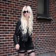 Taylor Momsen et son groupe The Pretty Reckless à New York, le 25 août 2010