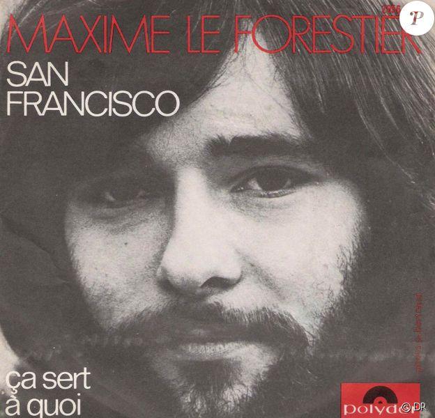 Maxime Le Forestier a donné à la maison bleue du quartier Castro ses galons d'éternité dans San Francisco, mais ne peut rien pour la préservation de... sa peinture !