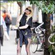 Taylor Momsen sur le plateau de tournage de Gossip Girl, le 2 septembre 2010
