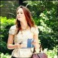 """""""Leighton Meester sur le plateau de tournage de Gossip Girl, le 2 septembre 2010"""""""