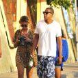 Beyoncé Knowles s'offre quelques jours de vacances à Portoferraio en Toscane, dans le centre de l'Italie, en compagnie de son mari Jay-Z, le 20 août.