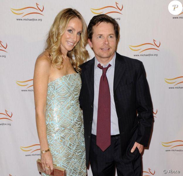 Michael J. Fox et sa femme Tracy Pollan