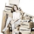 Heidi klum pour New Balance en collaboration avec le site amazon.com