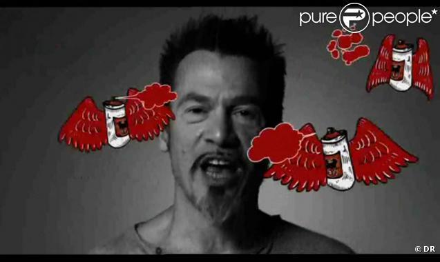 Florent Pagny, extrait du clip  Si tu n'aimes pas Florent Pagny , septembre 2010