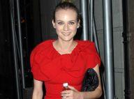 Diane Kruger : Belle et totalement dans le vent, elle fait tout pour attirer l'attention de Karl Lagerfeld...