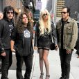 Taylor Momsen et son groupe The Pretty Reckless
