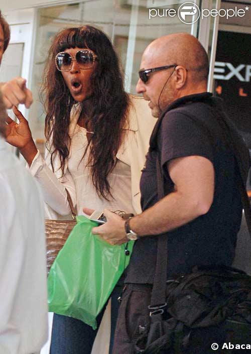 Naomi Campbell arrêtée à bord d'un avion pour comportement violent !