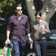 Jennifer Garner et Ben Affleck sont aller boire un café en amoureux dans le quartier de Brentwood, à Los Angeles, le 17 septembre 2010.