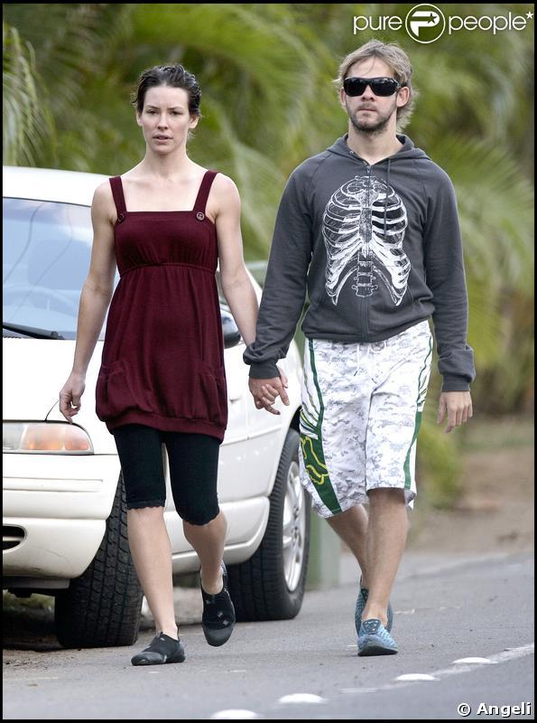 Evangeline Lilly And Dominic Monaghan Married image