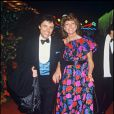 Chantal Nobel et Sacha Distel au Lido, le 13 mars 1985
