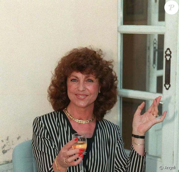Chantal Nobel en juillet 1996