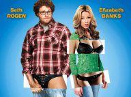 Regardez le délirant Seth Rogen et la belle Elizabeth Banks se lancer dans le cinéma X !
