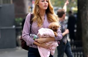 Blake Lively : pause tendresse sur le tournage de Gossip Girl...