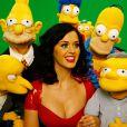 Katy Perry va apparaître en tant que guest dans un épisode du dessin animé  Les Simpson , diffusé sur la Fox.