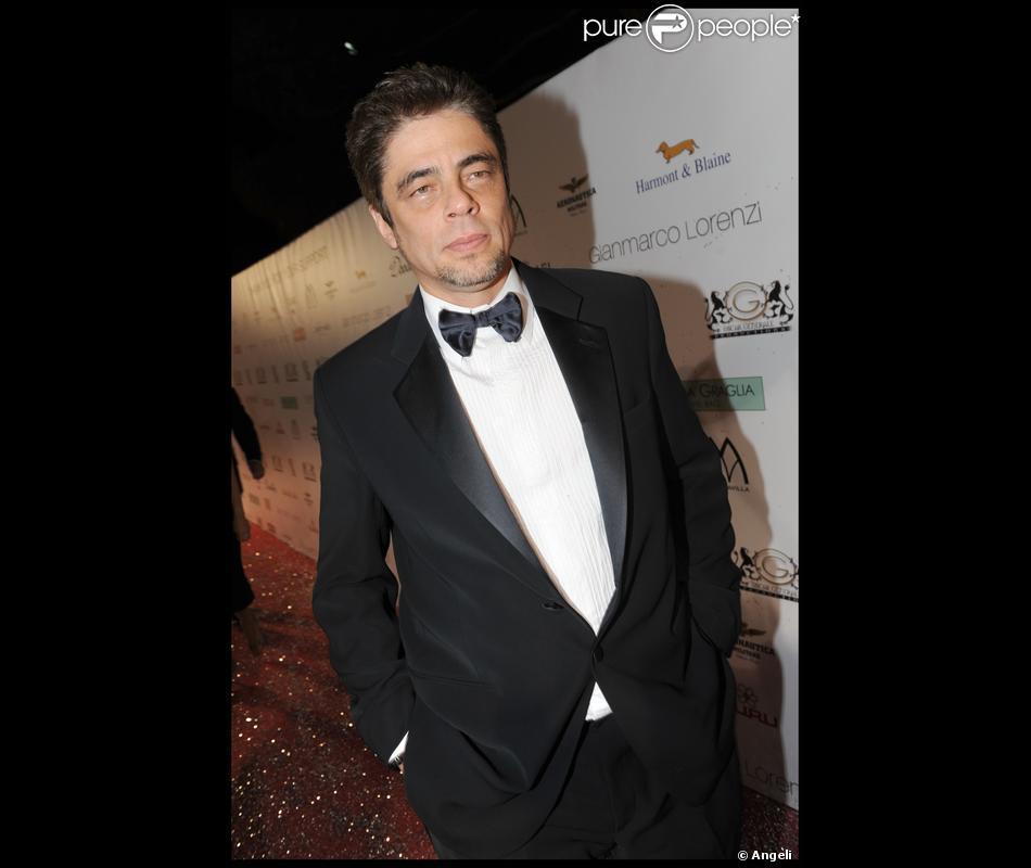 Benicio Del Toro...