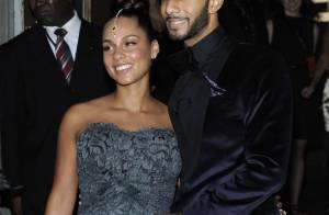 Alicia Keys bien enceinte et rayonnante, auprès de son mari protecteur !