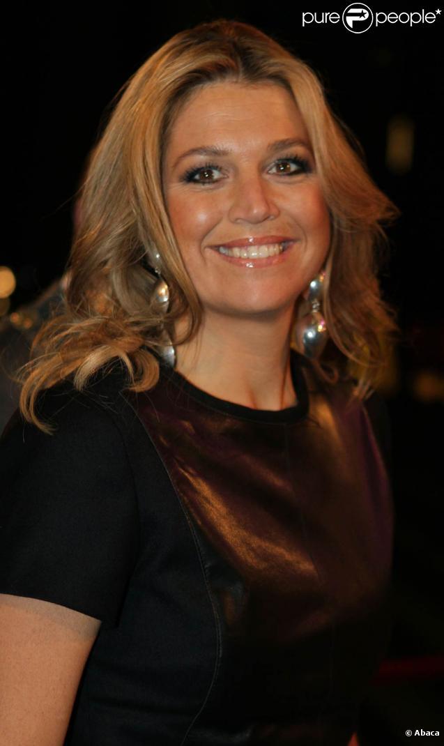 Le 3 octobre 2010, la princesse Maxima des Pays-Bas participait à la cérémonie des Edison Music Awards, à Rotterdam.