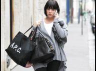 Lily Allen : A Paris, elle ne fait vraiment rien comme une femme enceinte !