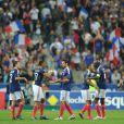 Samedi 8 octobre 2010, les Bleus battaient la Roumanie au Stade de France...