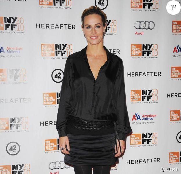 Cécile de France à l'occasion de l'avant-première de Au-delà, dans le cadre du 48e New York Film Festival, le 10 octobre 2010.