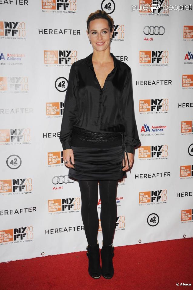 Cécile de France à l'occasion de l'avant-première de  Au-delà , dans le cadre du 48e New York Film Festival, le 10 octobre 2010.