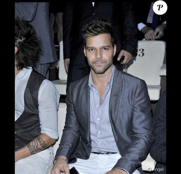 Ricky Martin en juin 2010