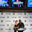 Demi Lovato et Taïo Cruz lors de l'annonce des nominés de la 38e édition des American Music Awards, le 12 octobre 2010 à Los Angeles