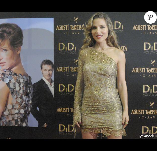Elsa Pataky lors de l'avant-première du film Di Di Hollywood à Barcelone le 15 octobre 2010
