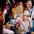 Keith Richards et Marianne Faithfull en 1971 au festival de Cannes
