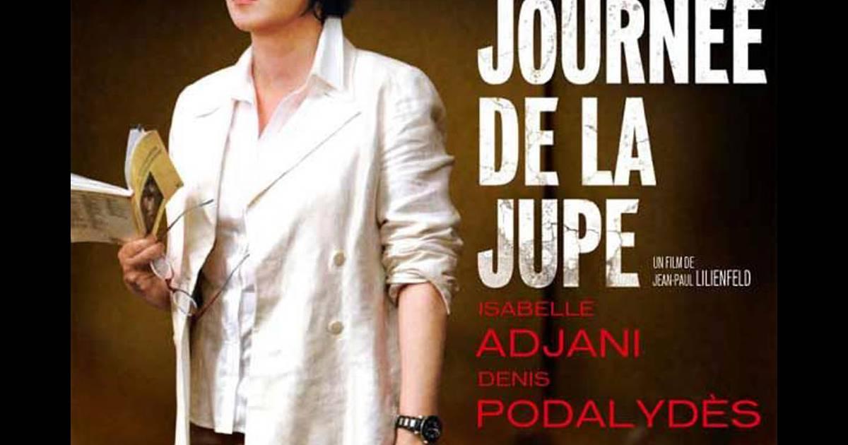 86ca3841a7d95d La journée de la jupe : Isabelle Adjani fait des petits à l'étranger ...