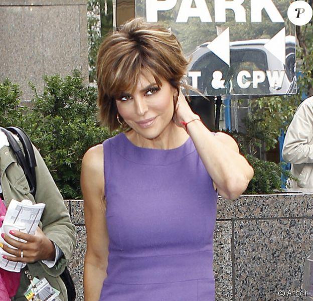 Lisa Rinna, l'une des candidates de l'émission The Celebrity Apprentice, à New York le 20 octobre 2010