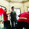 Benicio del Toro dans les coulisses du calendrier Campari