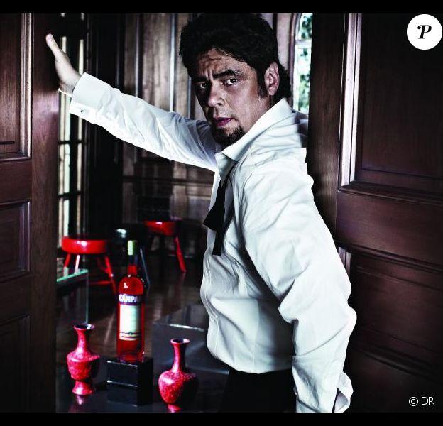Benicio del Toro pour le calendrier Campari