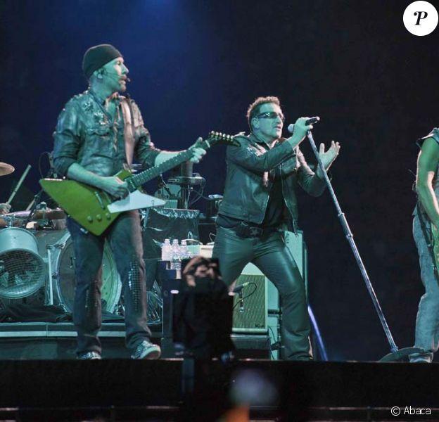 U2 en concert à Rome, le 8 octobre 2010