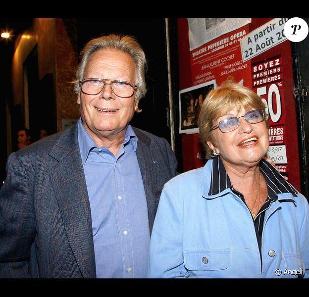 Françoise Dorin et Jean Piat