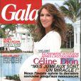 Céline Dion en couverture de  Gala , en kiosque le 27 octobre 2010