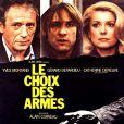 Yves Montand, Gérard Depardieu et Catherine Deneuve dans Le Choix des armes