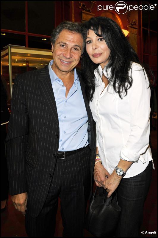 Yamina Benguigui et son mari à la cérémonie des 8èmes Trophées internationaux du stylographe à l'hôtel