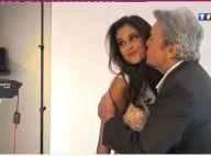Découvrez le shooting glamour de Malika Ménard avec Alain Delon et les 33 Miss !