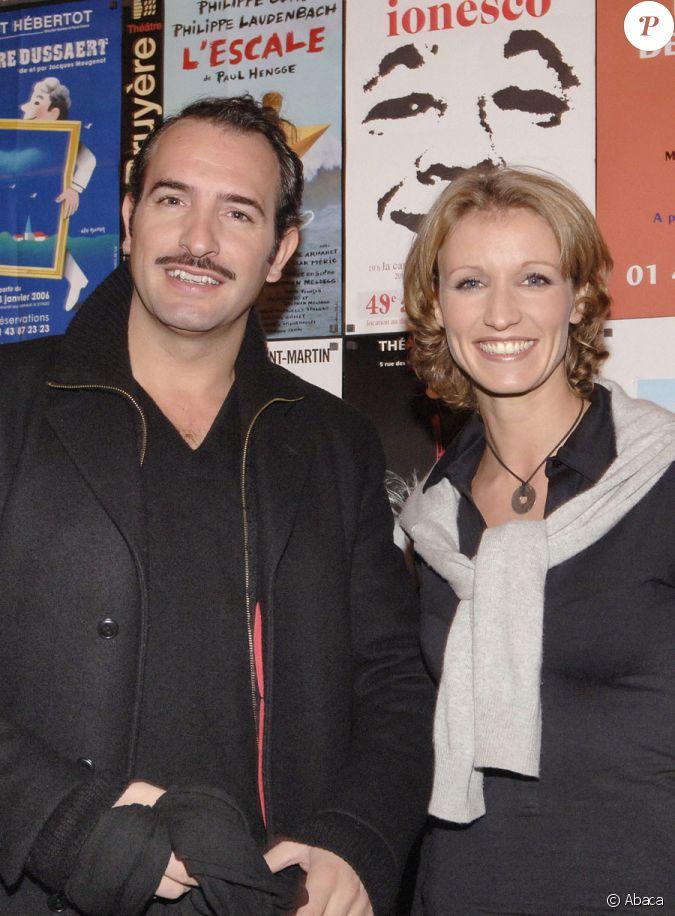 Jean dujardin et alexandra lamy en 2006 for Jean dujardin separation