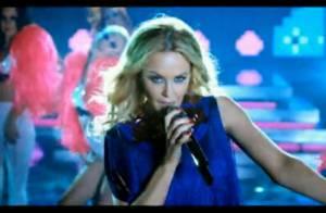 Kylie Minogue : C'est elle qui a réalisé son nouveau clip... So hot !
