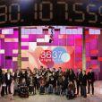 Le Téléthon, organisé chaque année sur les antennes de France Télévisions.