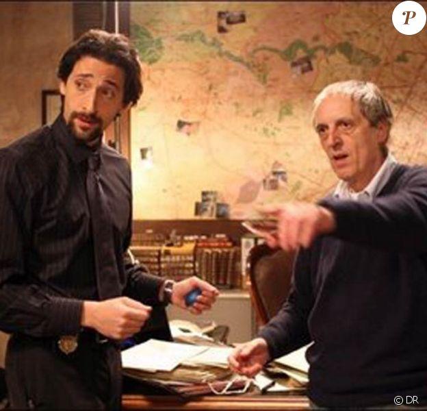 Des images du tournage de Giallo, de Dario Argento, avec Adrien Brody, un film que la star hollywoodienne renie aujourd'hui et pour lequel il vient de gagner son procès pour salaire impayé.