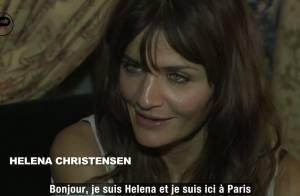 Rencontre avec Helena Christensen pour quelques minutes glamour et sportives !