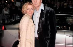 Liam Neeson rend un hommage particulier à sa défunte femme...